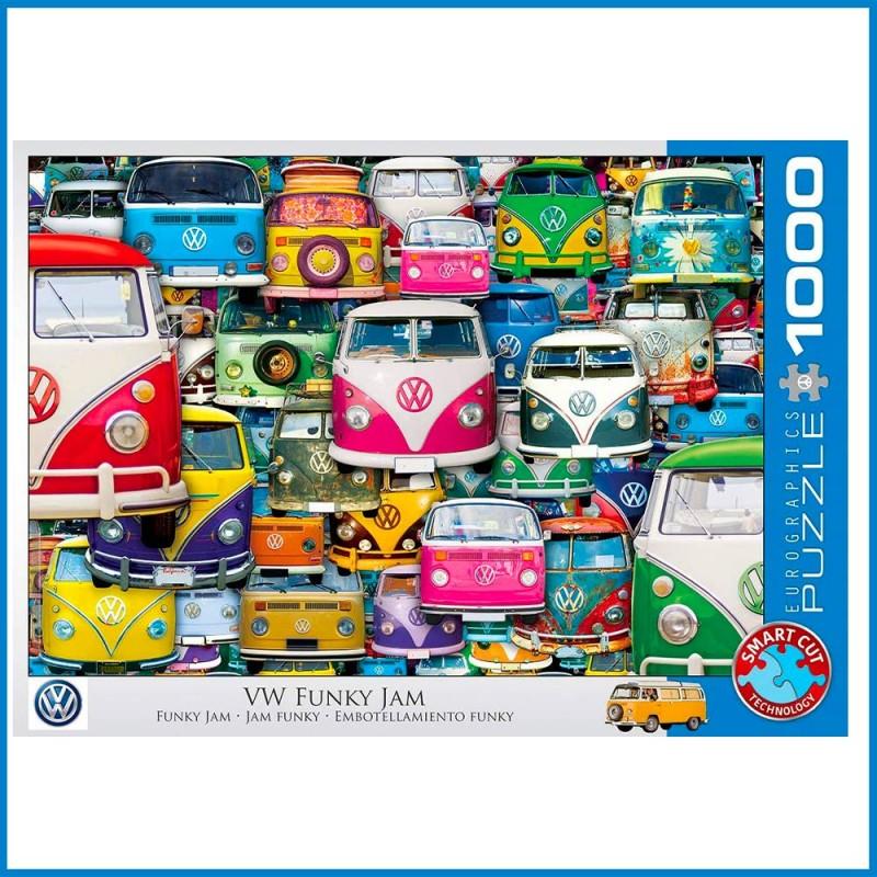 Puzzle VW Funky Jam - 1000 pièces - Eurographics