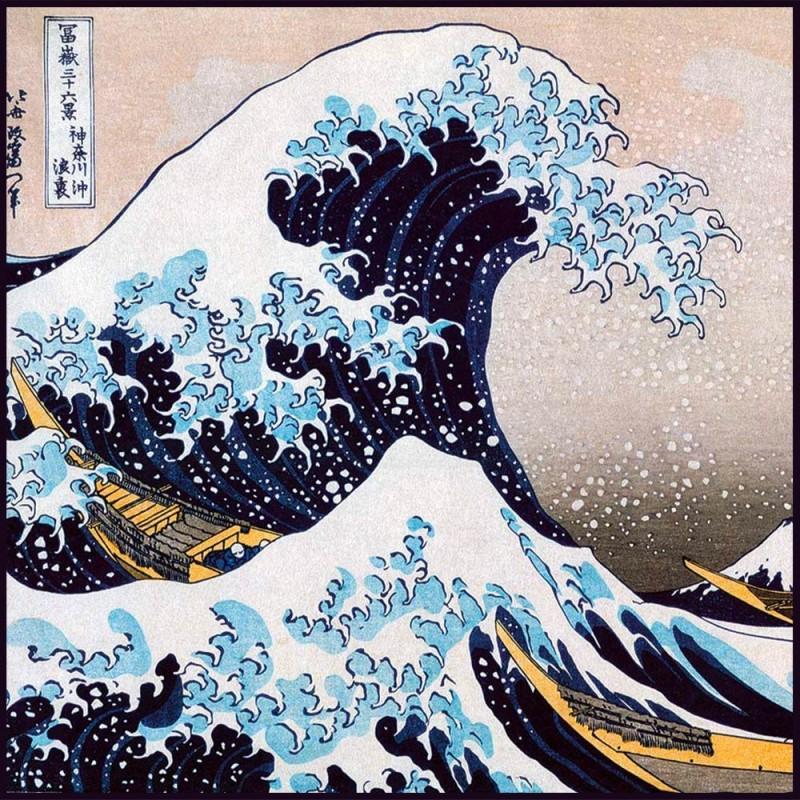 Puzzle La Grande Vague de Kanagawa par Katsushika Hokusai