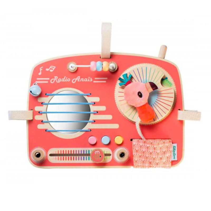 La radio rose avec les différentes activités.