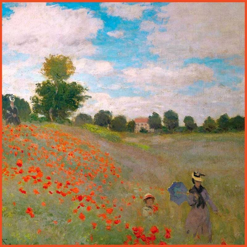 Puzzle Les Coquelicots par Claude Monet