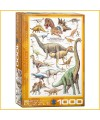 Puzzle Dinosaures Jurassic - 1000 pièces - Eurographics