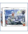 Puzzle vue de Paris Marc Chagall 1000 pcs