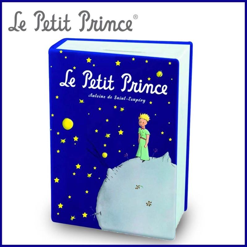 Tirelire Le Petit Prince en forme de livre - Nuit étoilée