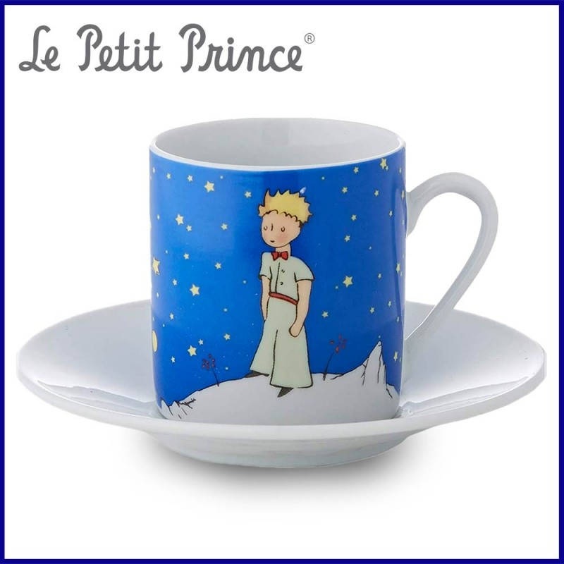 Petite tasse en céramique a l'effigie du Petit Prince - Coffret Nuit Etoilée