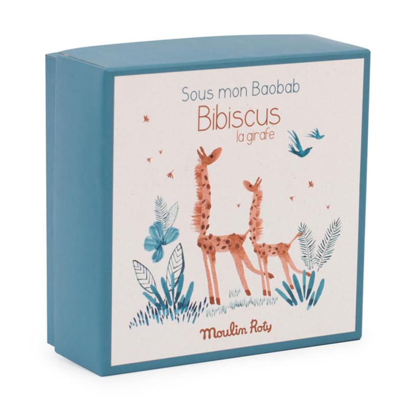Coffret naissance doudou girafe Moulin Roty