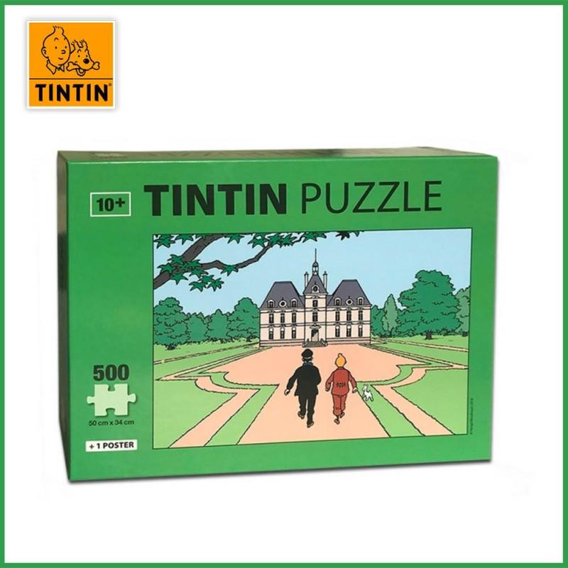 Puzzle Moulinsart Tintin - Château de Moulinsart 500 pièces