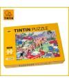 Puzzle Moulinsart Le Rallye Tintin 1000 pièces