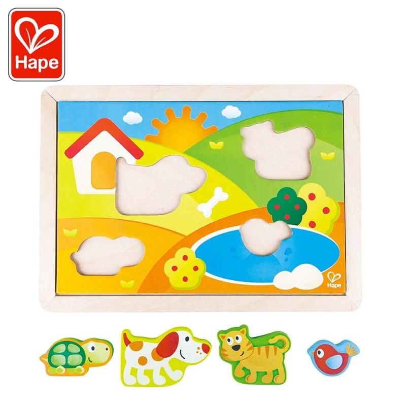 Puzzle 3 en 1 Puppy et ses amis - Puzzle 2