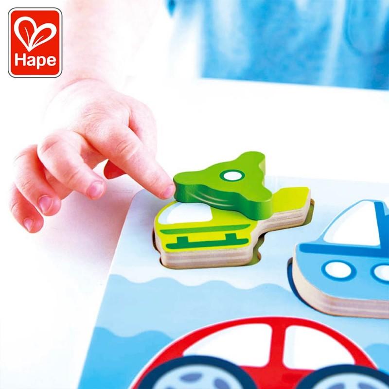Puzzle avec pièces animées pour les enfants.