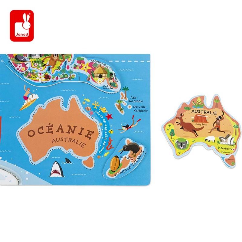 Puzzle pièce Australie