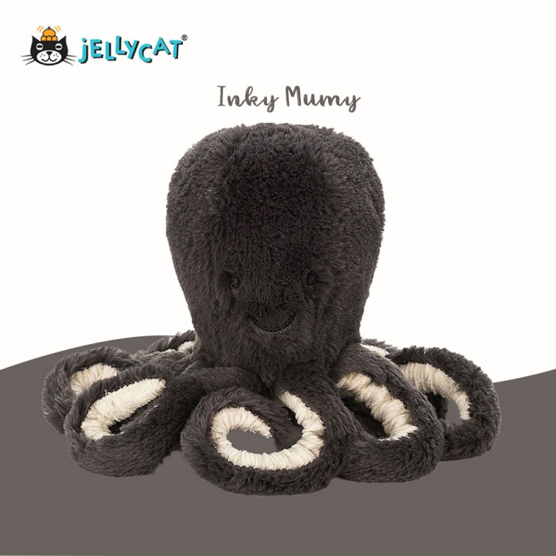 Pieuvre Grande Peluche Jellycat inky
