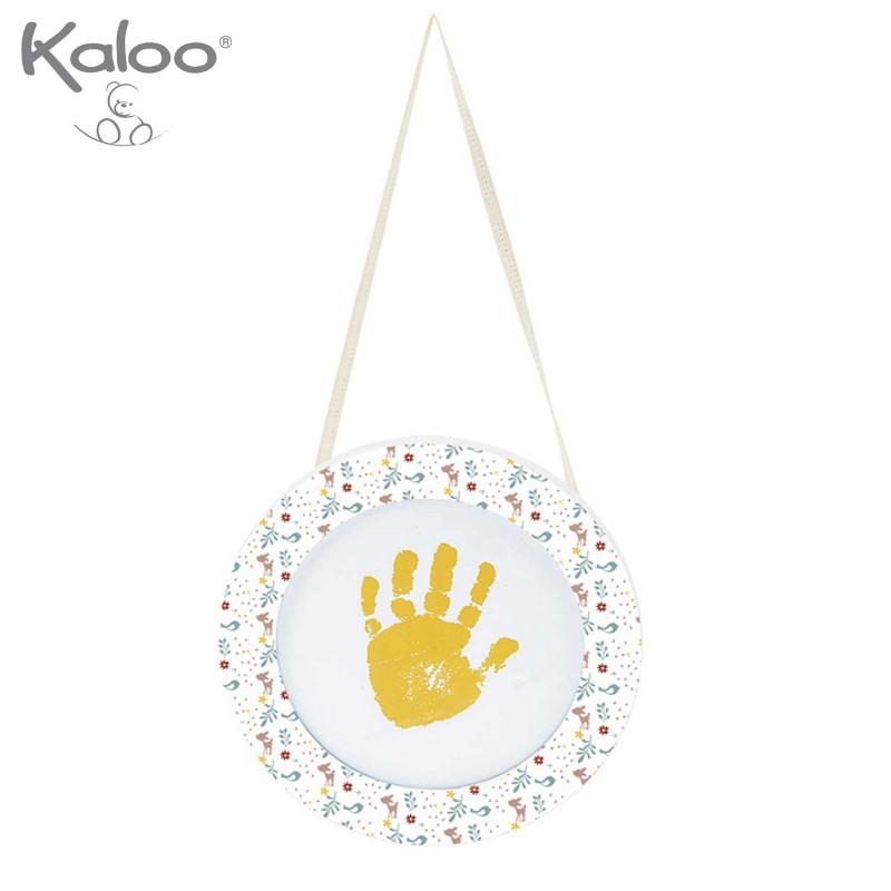 Ma première empreinte petite main bébé à peindre par Kaloo