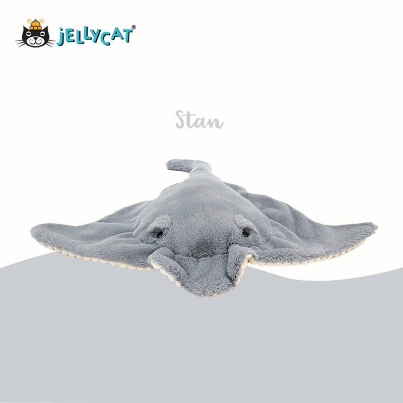Stan peluche raie manta de jellycat