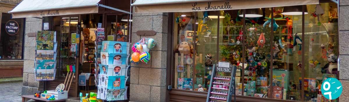 Boutique de jeux & jouets La Marelle à Saint-Malo