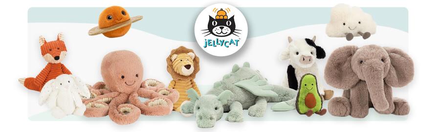 jellycat : peluches et doudous