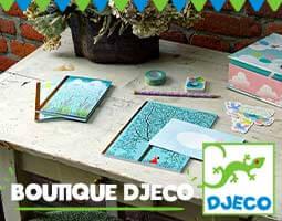 Boutique Djeco loisirs créatifs pour les enfants